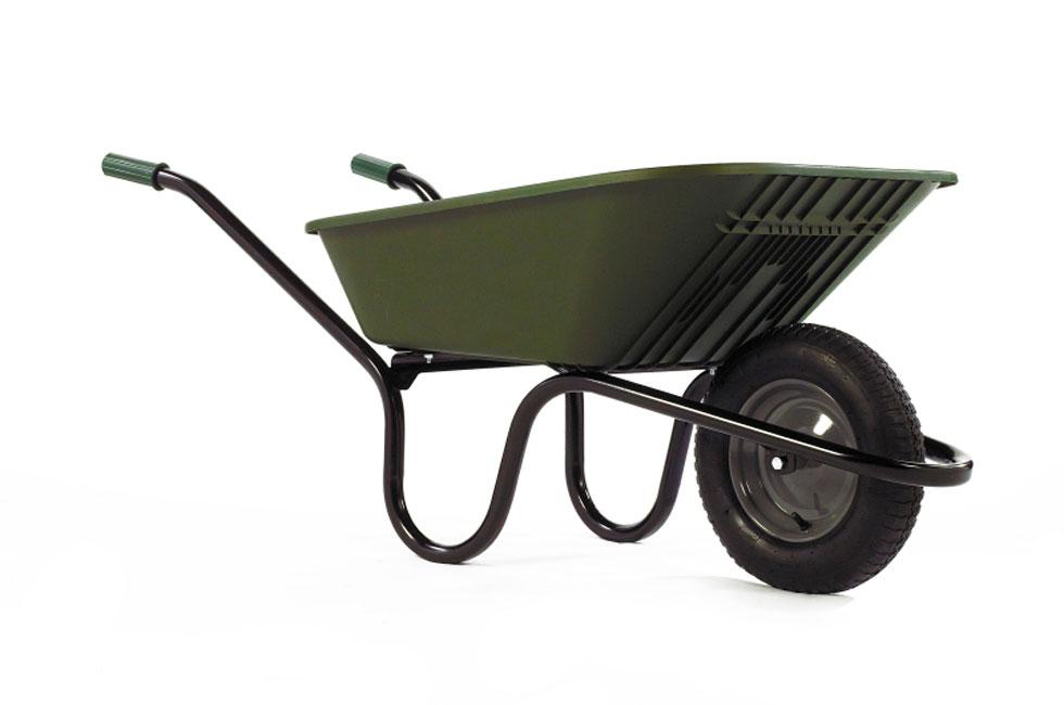 plastic garden barrow wheelbarrow madingley mulch. Black Bedroom Furniture Sets. Home Design Ideas
